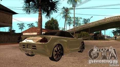 Toyota MR-S Veilside для GTA San Andreas вид справа