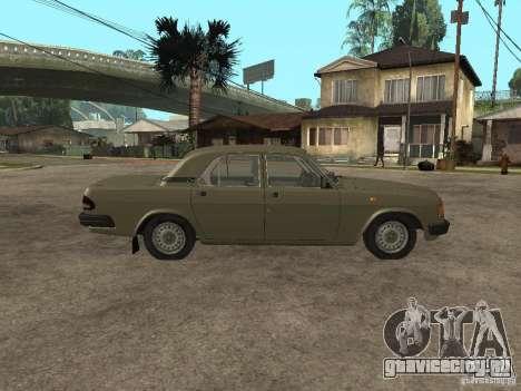 ГАЗ 3110 v 1 для GTA San Andreas вид слева