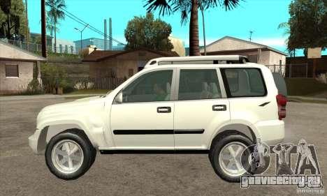 Jeep Liberty 2007 для GTA San Andreas вид слева
