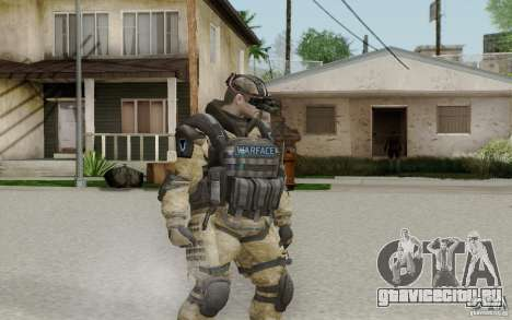 Инженер из Warface для GTA San Andreas второй скриншот