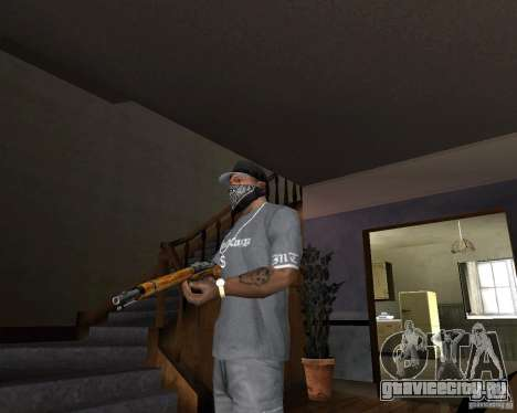 Ружьё М511 для GTA San Andreas второй скриншот