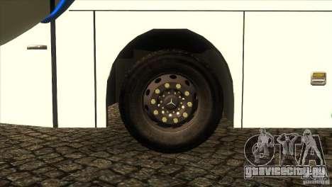 Hino New Travego RK1 для GTA San Andreas вид изнутри