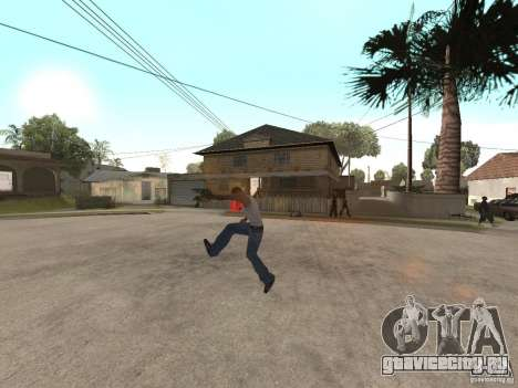 Awesome .IFP V3 для GTA San Andreas третий скриншот