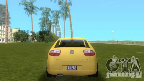 Seat Leon Cupra R для GTA Vice City