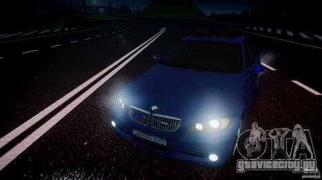 BMW 3-Series Unmarked [ELS] для GTA 4 вид сбоку