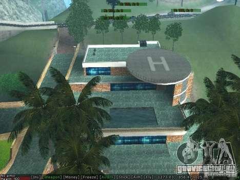 Новая вилла Мед-Догга для GTA San Andreas пятый скриншот