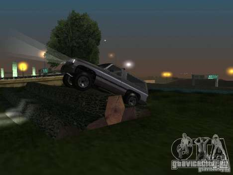Rancher из GTA 4 для GTA San Andreas вид сбоку