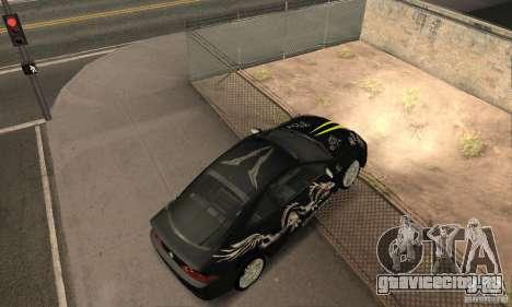 Acura RSX New для GTA San Andreas двигатель