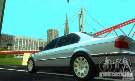 BMW 750i E38 для GTA San Andreas вид слева