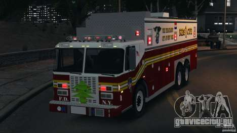 FDNY Rescue 1 [ELS] для GTA 4 вид сбоку