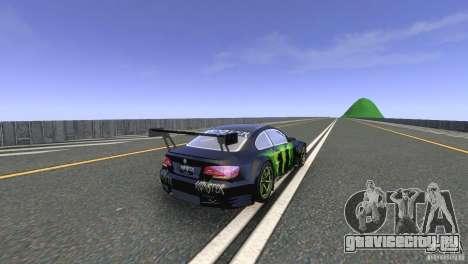 BMW M3 Monster Energy для GTA 4 вид справа