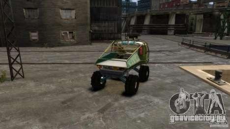 УАЗ Прототип Голиаф для GTA 4 вид слева
