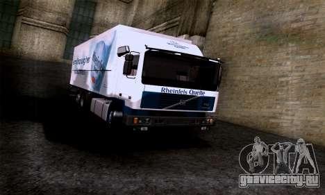 Volvo F10 для GTA San Andreas