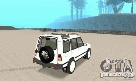Land Rover Discovery 2 для GTA San Andreas вид слева