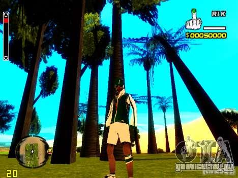 Skin бомжа v5 для GTA San Andreas