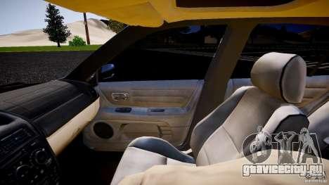 Lexus IS300 для GTA 4 вид изнутри