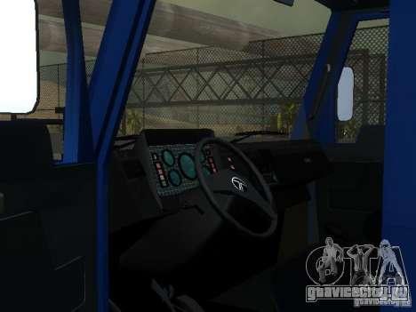 БАЗ Т-713 для GTA San Andreas вид сбоку