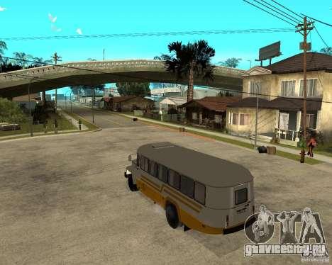 КАВЗ - 39765 длиннобазный для GTA San Andreas вид сзади слева