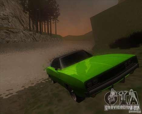 Dodge Charger RT 1968 для GTA San Andreas
