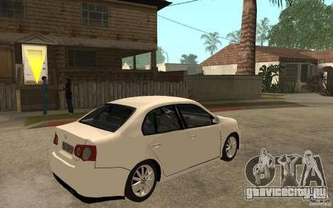 Volkswagen Jetta 2008 для GTA San Andreas