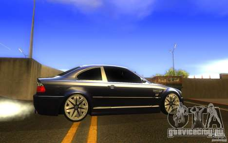 BMW M3 E46 V.I.P для GTA San Andreas вид слева