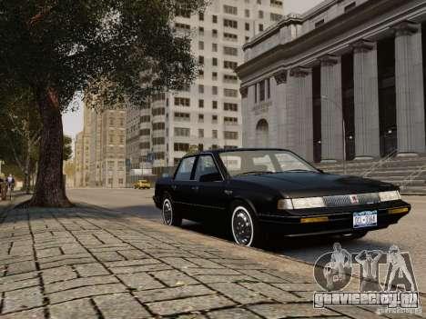 Oldsmobile Cutlass Ciera 1993 для GTA 4 вид сзади слева