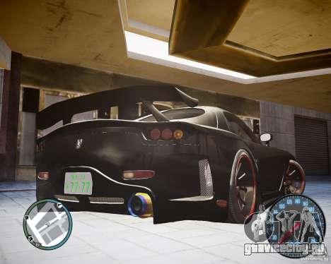 Mazda RX-7 FD3S Veilside для GTA 4 вид слева