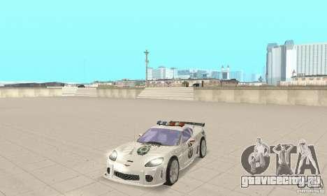 Chevrolet Corvette C6 Police Сержант Кросс NFSMW для GTA San Andreas