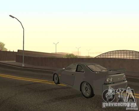 Nissan Skyline GT-R R-33 для GTA San Andreas салон