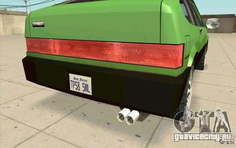 Mad Drivers New Tuning Parts для GTA San Andreas шестой скриншот