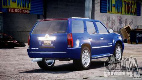 Cadillac Escalade [Beta] для GTA 4 вид сверху
