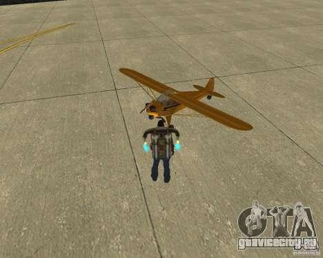 Пак воздушного транспорта для GTA San Andreas вид сзади слева