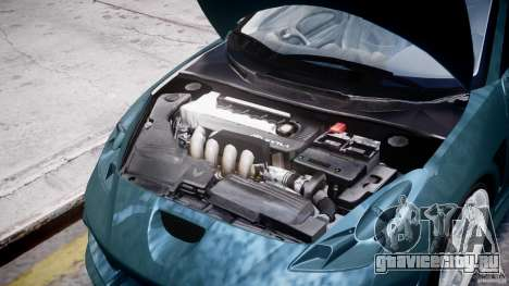Toyota Celica Tuned 2001 v1.0 для GTA 4 вид сбоку