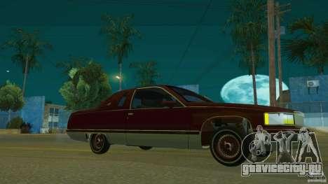 Cadillac Fleetwood 1993 для GTA San Andreas вид справа