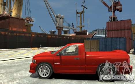 Dodge Ram SRT-10 v.1.0 для GTA 4 вид слева