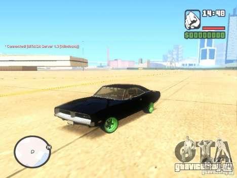 Dodge Charger Custom 1969 для GTA San Andreas