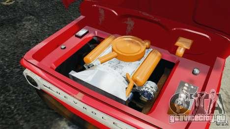 Chevrolet C20 Towtruck 1966 для GTA 4 вид сбоку