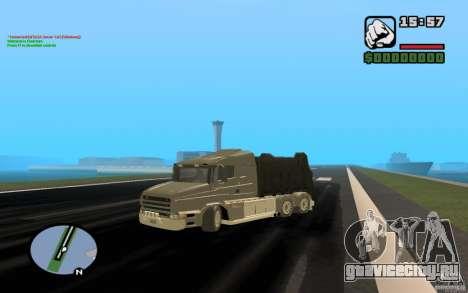 Scania T164 мусоровоз для GTA San Andreas