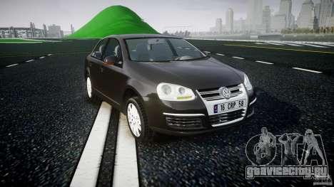 Volkswagen Jetta 2008 для GTA 4 вид сзади