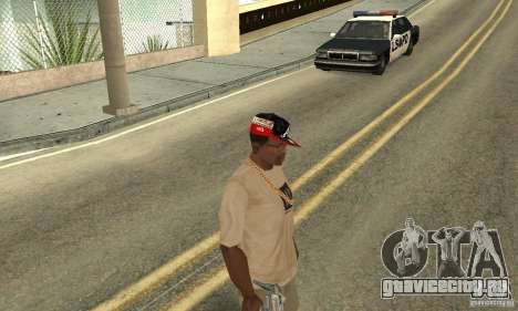 New Era Cap для GTA San Andreas третий скриншот