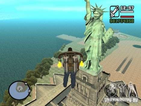 Статуя Свободы для GTA San Andreas второй скриншот