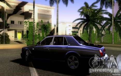Bentley Arnage для GTA San Andreas вид слева