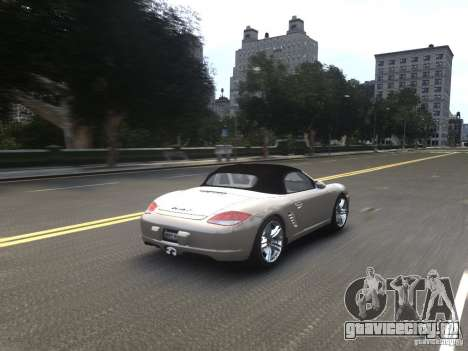 Porsche Boxster S 2010 EPM для GTA 4 вид сбоку