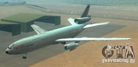 McDonell Douglas KC-10A Extender для GTA San Andreas вид сбоку