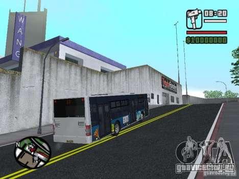 CityLAZ 12 LF для GTA San Andreas вид справа