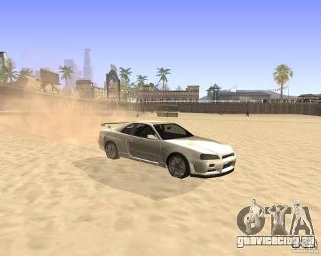 ENBSeries By Krivaseef для GTA San Andreas второй скриншот