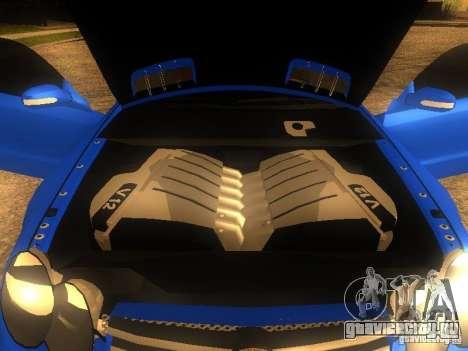 Mercedes-Benz SL65 AMG для GTA San Andreas вид сзади