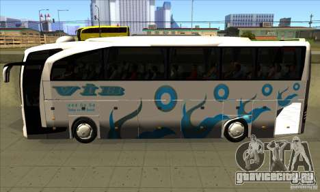 Mercedes-Benz Travego 15 SHD для GTA San Andreas вид слева