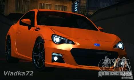 Subaru BRZ S 2012 для GTA San Andreas