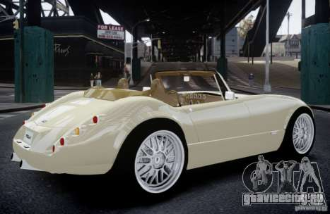 Wiesmann MF3 Roadster Final для GTA 4 вид слева